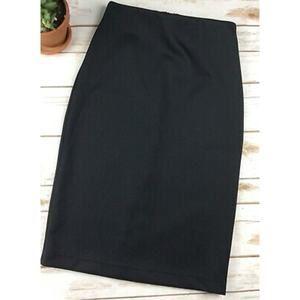 Vince Camuto Women's Black Pencil Skirt Size XS